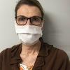 Woman wearing a Casco C-Matt™ Reusable Face Mask